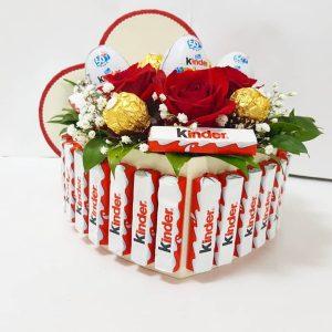 Aranžmani u kutiji – Flower Box – 020