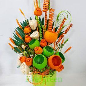Aranžmani od suvog cveća – 006
