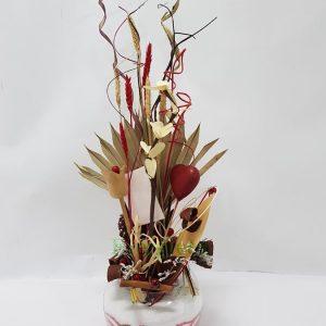 Aranžmani od suvog cveća – 011 Veštački aranžman