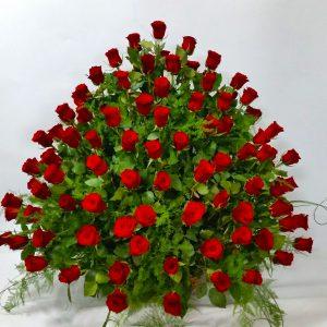 Korpa 101 ruža – 002