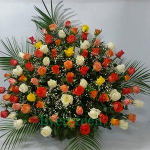 Korpa 101 ruža – 008