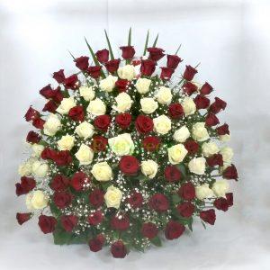 Korpa 101 ruža – 009