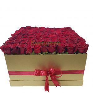 Korpa 101 ruža – 012 101 ruža u kutiji