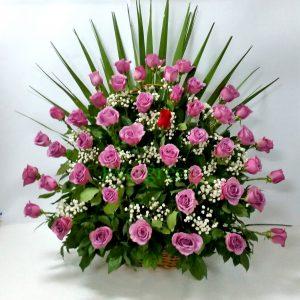 Korpa 51 ruža – 014