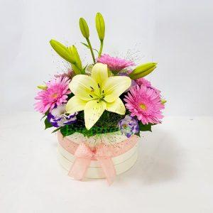 Aranžmani u kutiji – Flower Box – 005