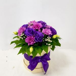 Aranžmani u kutiji – Flower Box – 013