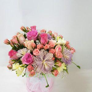 Aranžmani u kutiji – Flower Box – 014
