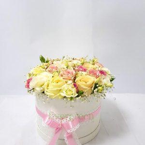 Aranžmani u kutiji – Flower Box – 015