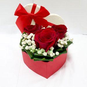 Aranžmani u kutiji – Flower Box – 019