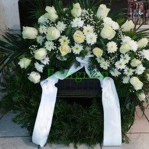 Venac – 019 Venac od belog cveća