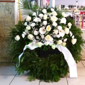 Venac – 020 Venac od belog cveća