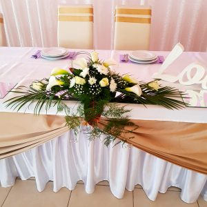 Dekoracija mladenačkog stola – 001