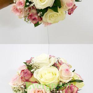 Bidermajer – 016 Bidermajer od ruža