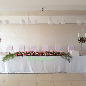 Dekoracija mladenačkog stola – 005