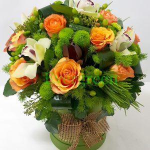 Aranžmani u kutiji – Flower Box – 026