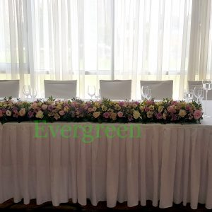 Dekoracija mladenačkog stola – 006