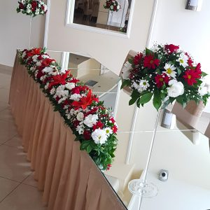 Dekoracija mladenačkog stola – 008