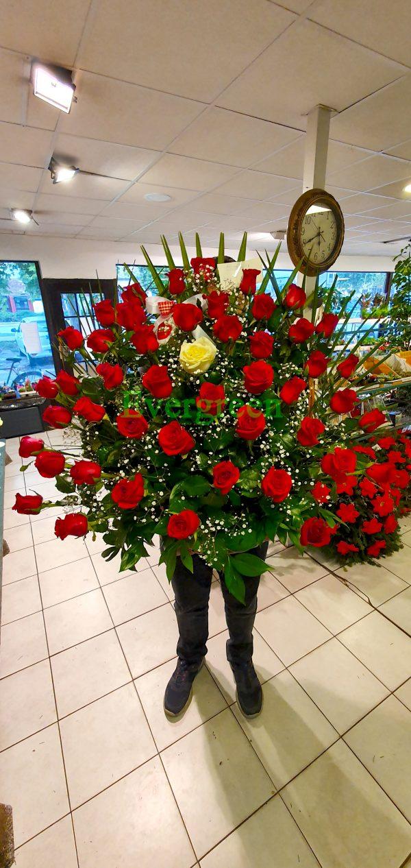 Korpa 71 ruža