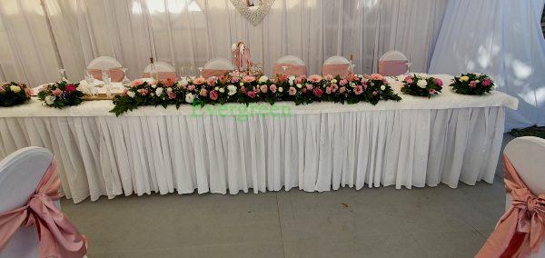 Dekoracija mladenačkog stola 046