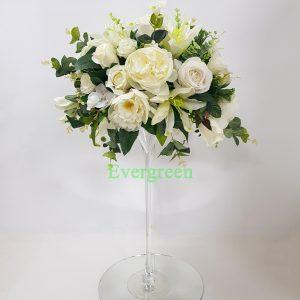 Veštački cvetni aranžmani za svadbu – 002