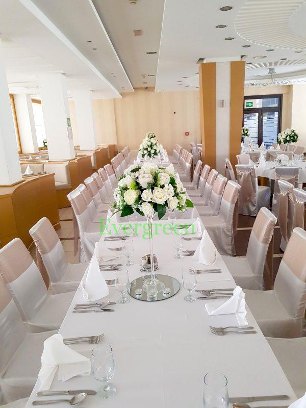 Veštački cvetni aranžmani za svadu za iznajmljivanje 011