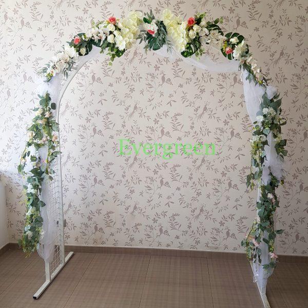 Veštački cvetni aranžmani za svadu za iznajmljivanje 007