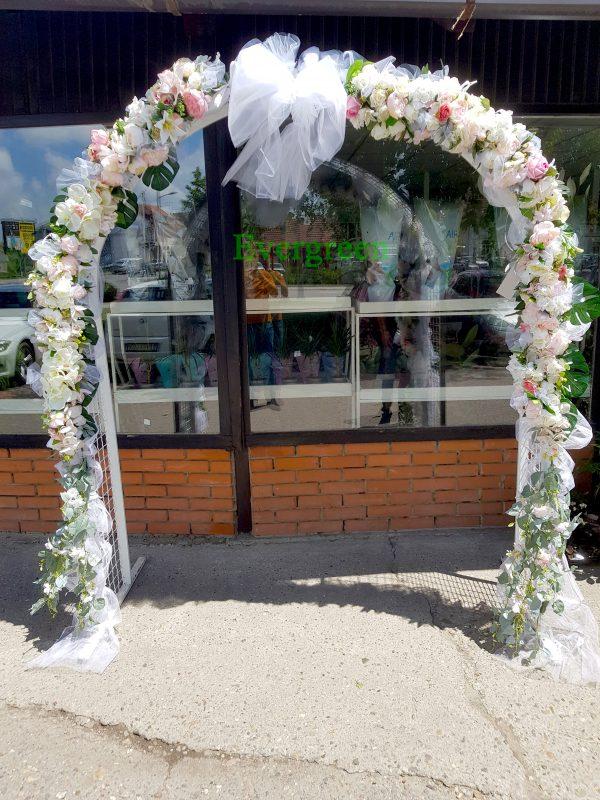 Veštački cvetni aranžmani za svadu za iznajmljivanje 013