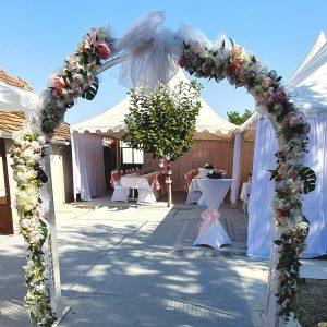 Luk za venčanje – Luk za slikanje – Rajska vrata za svadbu za slikanje – 001