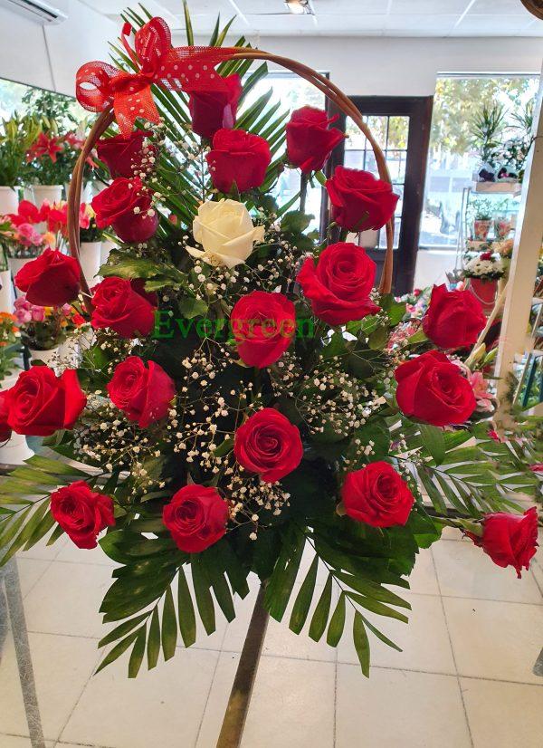 Korpa 18 ruža