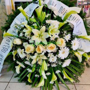 Venac – 045 – Venac od belog cveća